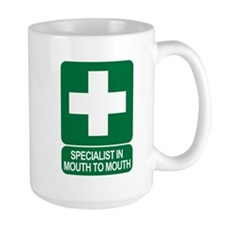 Specialist In Mouth To Mouth Mug