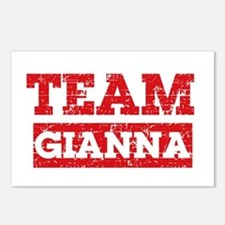 Team Gianna Postcards (Package of 8)