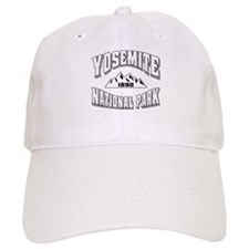 Yosemite Old Style White Baseball Cap