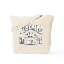 Yosemite Old Style White Tote Bag