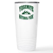 Yosemite Old Style Green Travel Mug