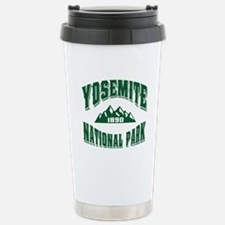 Yosemite Old Style Green Travel Mug