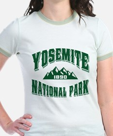 Yosemite Old Style Green T