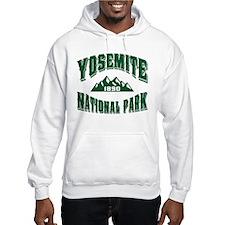 Yosemite Old Style Green Hoodie
