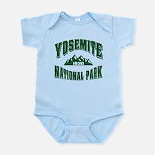Yosemite Old Style Green Infant Bodysuit