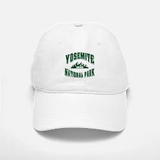 Yosemite Old Style Green Baseball Baseball Cap
