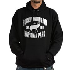 Rocky Mountain Old Style Black Hoodie