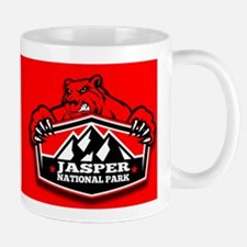 Jasper Red Bear Mug