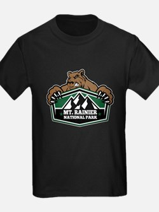 Mt. Rainier Brown Bear T