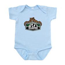 Mt. Rainier Brown Bear Infant Bodysuit