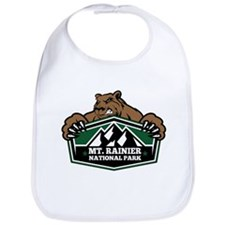 Mt. Rainier Brown Bear Bib