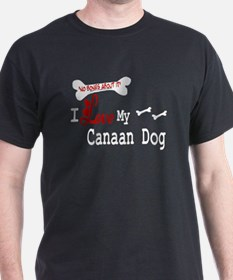 NB_Canaan Dog Black T-Shirt