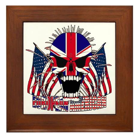 European American Framed Tile