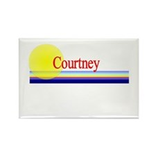 Courtney Rectangle Magnet
