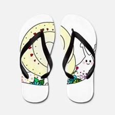 Colorful Cute Snail Flip Flops