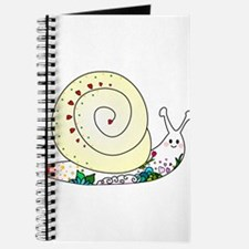 Colorful Cute Snail Journal