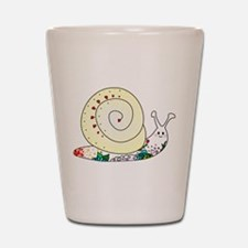 Colorful Cute Snail Shot Glass