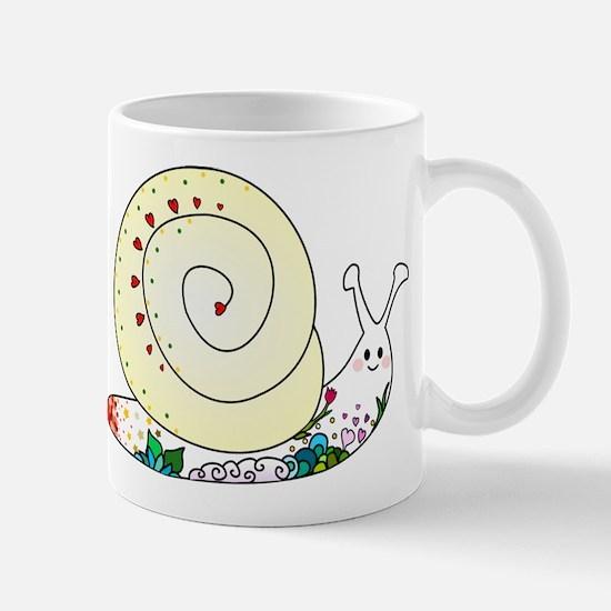 Colorful Cute Snail Mug