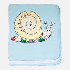 Colorful Cute Snail baby blanket
