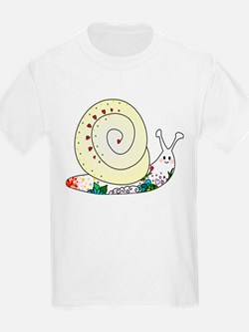 Colorful Cute Snail T-Shirt