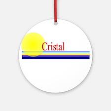 Cristal Ornament (Round)