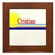 Cristian Framed Tile