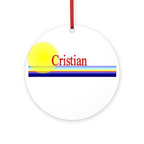 Cristian Ornament (Round)