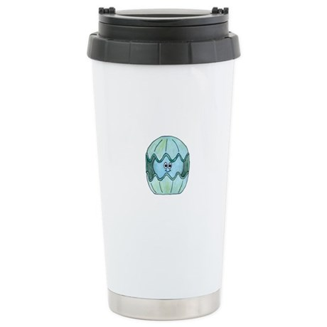 Cute Clam Shellfish. Stainless Steel Travel Mug