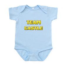 Team Castle yellow 1.png Infant Bodysuit