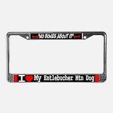 NB_Entlebucher Mountain Dog License Plate Frame