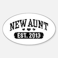New Aunt Est. 2013 Decal