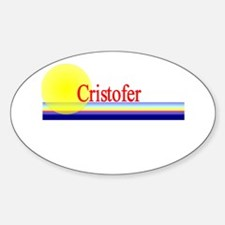 Cristofer Oval Decal
