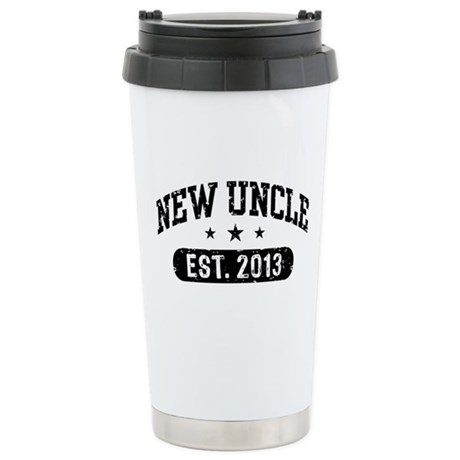 New Uncle Est. 2013 Stainless Steel Travel Mug