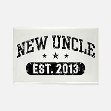 New Uncle Est. 2013 Rectangle Magnet
