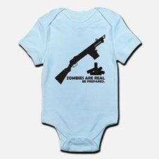 Zombies are Real Infant Bodysuit