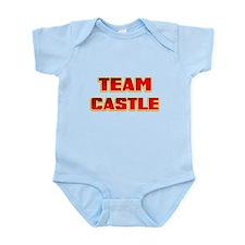 Team Castle red .png Infant Bodysuit