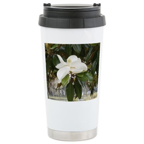 OLD FLORIDA MAGNOLIA Stainless Steel Travel Mug