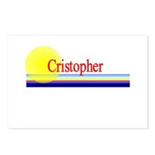 Cristopher Postcards (Package of 8)