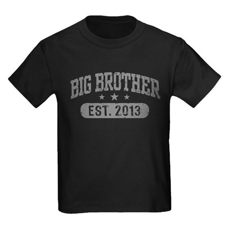 Big Brother Est. 2013 Kids Dark T-Shirt