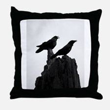 The Evening Call by Angela Leonetti Throw Pillow
