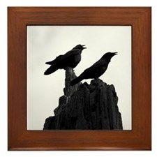 The Evening Call by Angela Leonetti Framed Tile