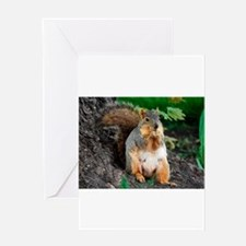 Snack Time by Angela Leonetti Greeting Card