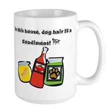 Dog Hair Condiment Mug