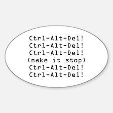 Ctrl-Alt-Del Decal