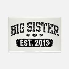 Big Sister Est. 2013 Rectangle Magnet