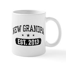 New Grandpa Est. 2013 Mug