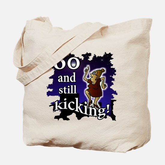 Over-the-Hill 60 and still kicking Lady Tote Bag