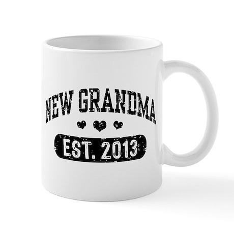 New Grandma Est. 2013 Mug