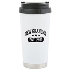 New Grandma Est. 2013 Travel Mug