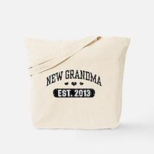 New Grandma Est. 2013 Tote Bag